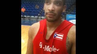 Ryann Abraham, Puerto Rico Basketball Team Practice (7/25/11), Boricuas Ballers