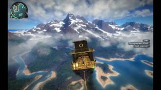 How to fly a boat in Just Cause 2