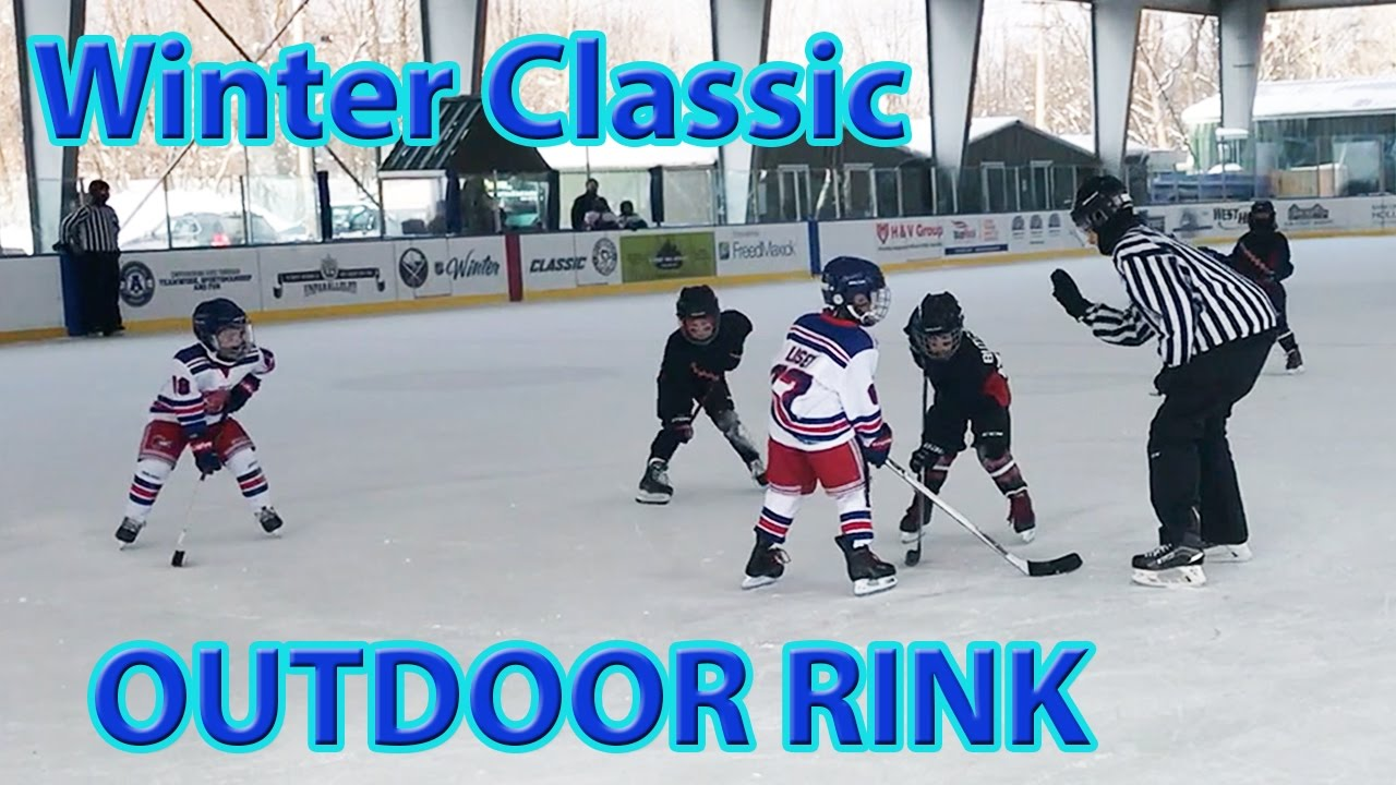 Winter Classic Buffalo Sabres Outdoor Rink In East Aurora Tour And