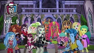 #МонстерХай: Школьное сочинение. Лучшие мультики Monster HIgh 5 сезон