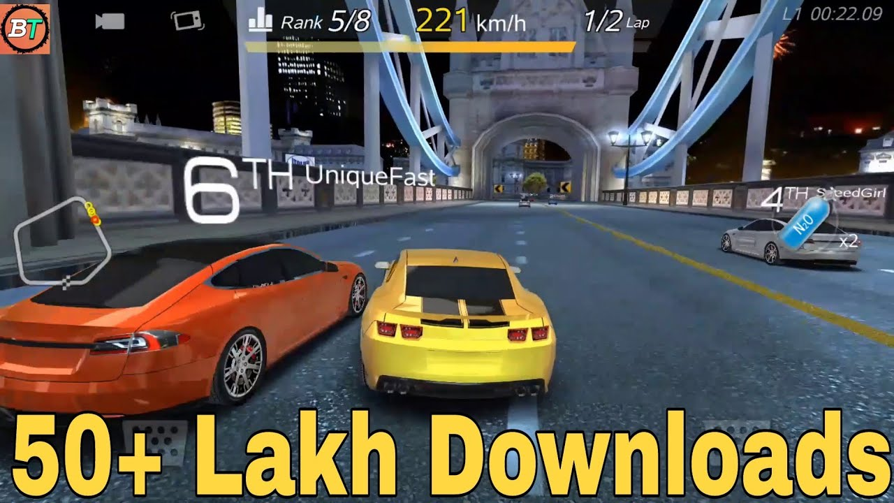 How to download and play crazy for speed car racing game in hindi ...