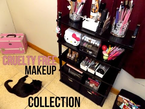 100% Cruelty Free Makeup Collection &  Storage