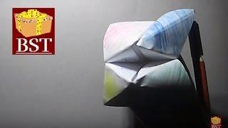 видео Как сделать гадалку из бумаги по схеме своими руками