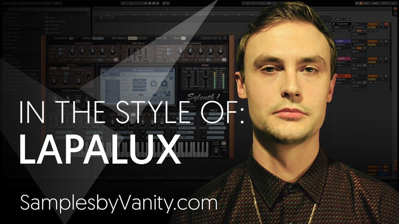 LAPALUX Tutorial: In The Style of Vol 9 - Lapalux + Sample Pack (Field  Recordings & Layering)