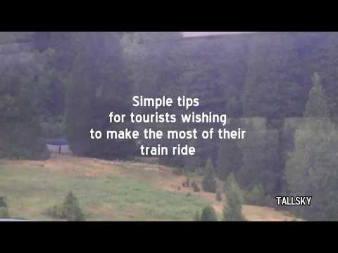 Amtrak Passenger Tips for Coast Starlight Northbound CA to Oregon Segment (Audio Muted by YouTube)
