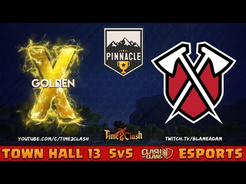 TRIBE GAMING Vs GOLDEN X | PINNACLE CUP
