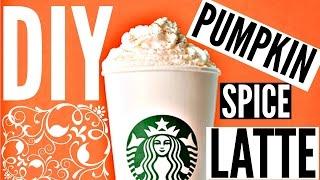 Diy Starbucks Drinks For Fall: Pumpkin Spice Latte
