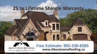 Oakville Ontario Roofing Services - Aboutowne Roofing Since 1975
