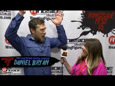 RINGSIDE FEST 2016: Daniel Bryan WWE Smackdown Live GM Interview