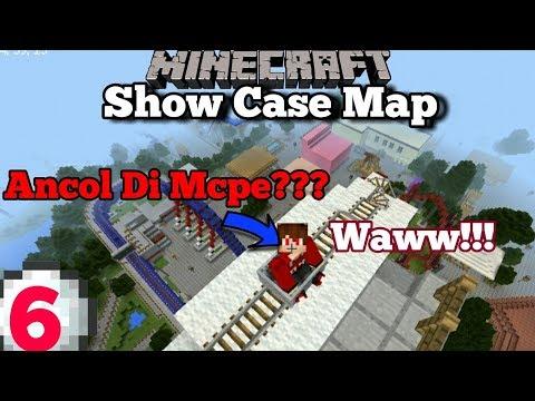 ADA ANCOL DI MINECRAFT PE??? - SHOW CASE MAP#6