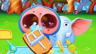 Kids Play Jungle Animal Helping & Learn About Animals - Fun Game For Kids