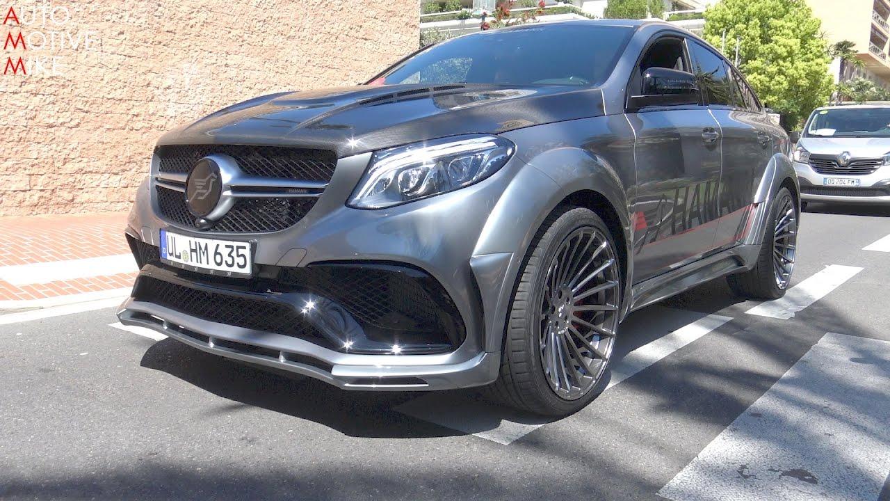 680hp Hamann Mercedes Amg Gle63 S Widebody In Monaco Youtube