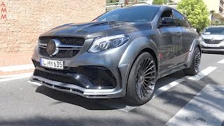680HP HAMANN Mercedes-AMG GLE63 S Widebody in Monaco