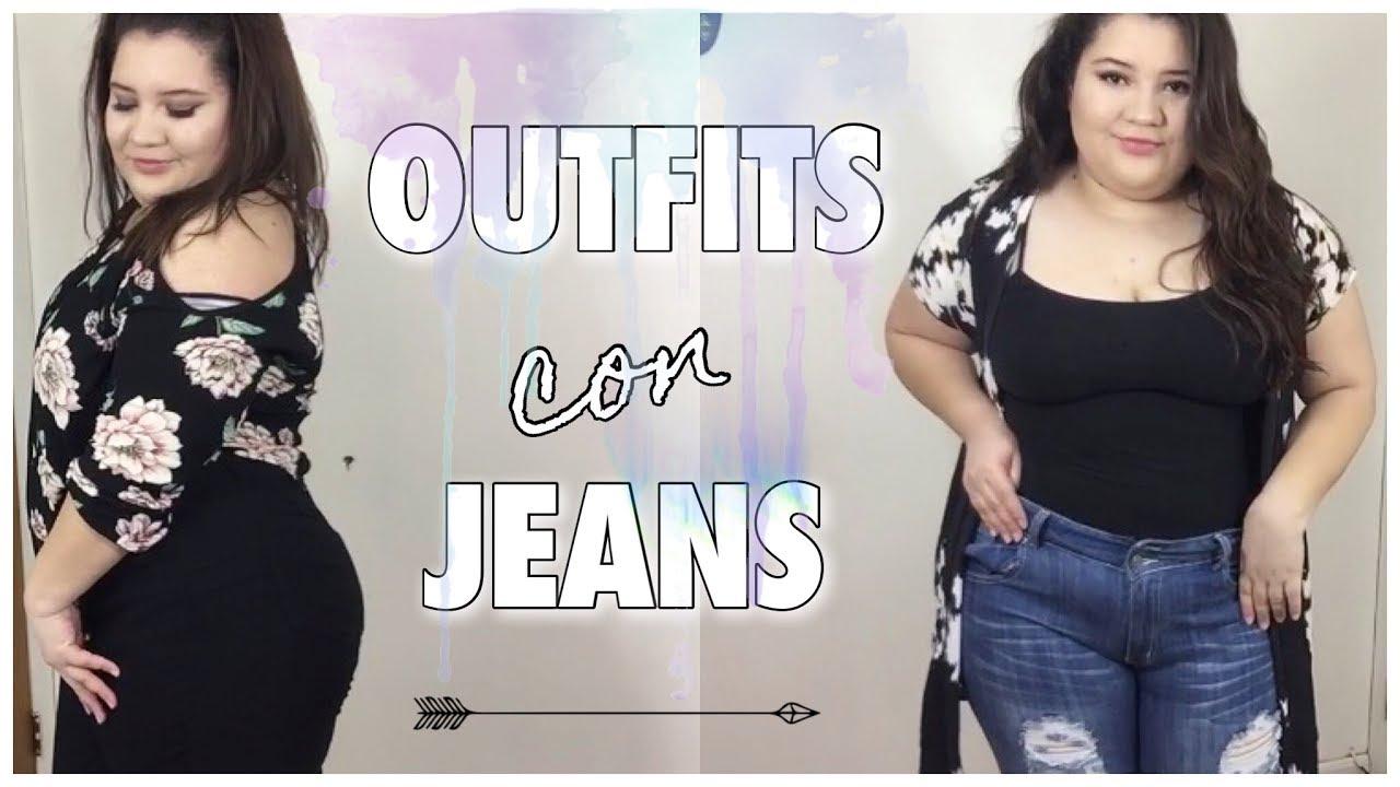 Try On Haul De Jeans Para Gorditas De Factory Fashion Com Youtube