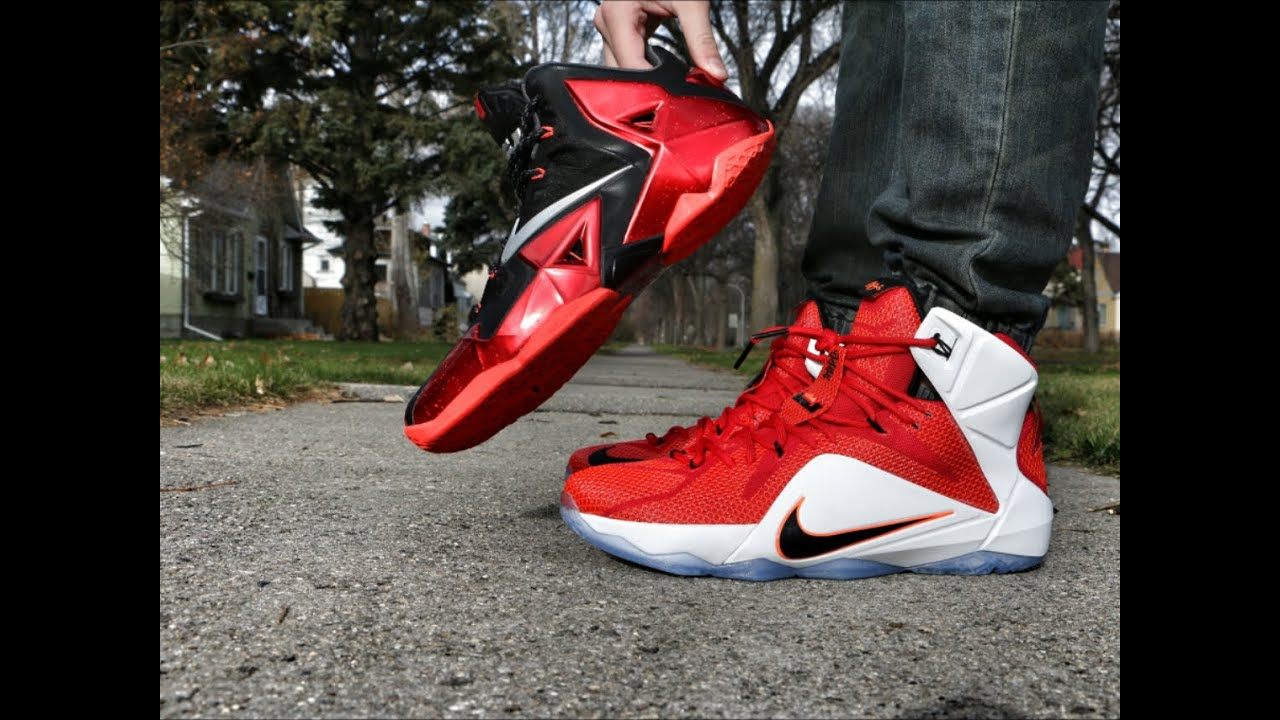 sale retailer 5ba2d b20b0 Nike LeBron 11 vs Nike LeBron 12