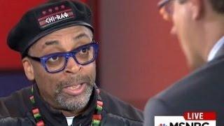 Spike Lee Goes Off On MSNBC Host Chris Hayes
