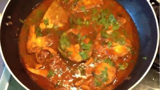 Grandma's Fish Curry - Tilapia Fish Curry - Fish Curry Indian Style