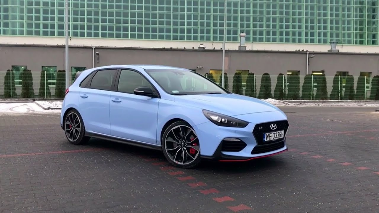 hyundai i30 n performance 2 0 t gdi 275 km exhaust sound and driving modes presentation youtube