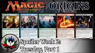 Magic Origins Spoilers: Gideon's Phalanx, Talent of the Telepath, Graveblade Marauder, and more!
