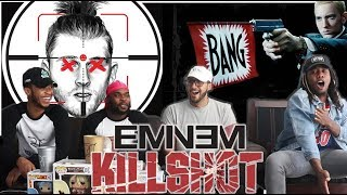 IT'S A CRIME SCENE! Eminem - KILLSHOT (Machine Gun Kelly Diss) REACTION/REVIEW