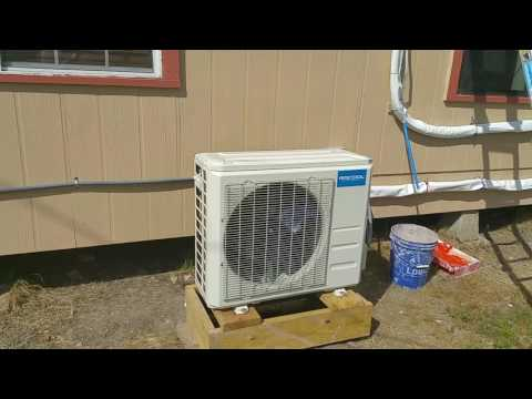 MrCool 24k BTU DIY heat pump AC from Ingrams.