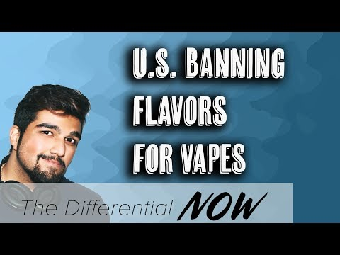 U.S. to Restrict E-Cigarette Flavors to Fight Teenage Vaping | The Differential Now