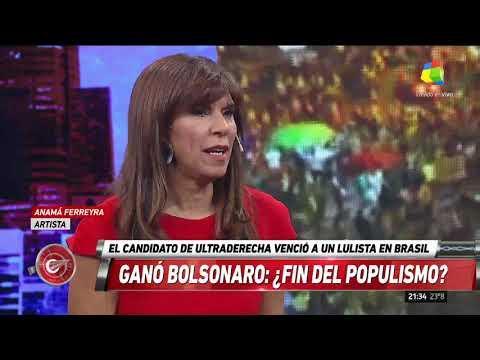 Anamá Ferreira: A Bolsonaro lo subestimaron