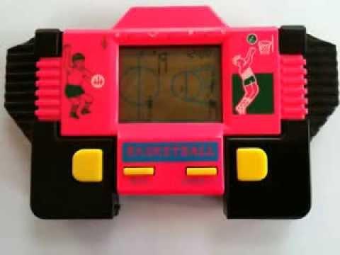 Mini Game Basketball handheld vintage Rare raridade anos ...