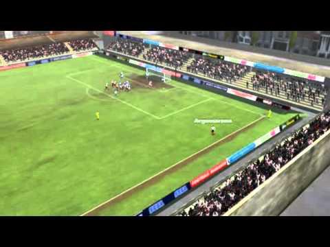 Villa Teresa - Tacuarembó F.C. - Gol de Riso 2 minutos