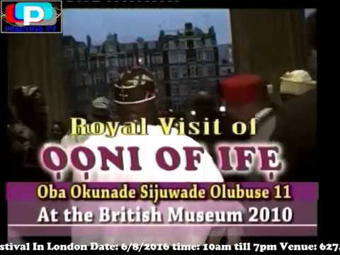 LATE OONI OF IFE AT THE BRITISH MUSEUM LONDON