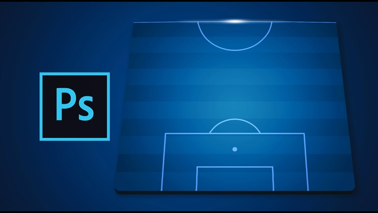 Making A Champions League Soccer Lineup Graphic In Photoshop