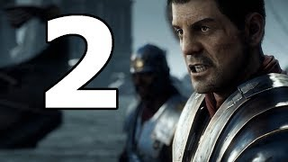 Ryse Son Of Rome Walkthrough Part 2 - No Commentary Playthrough (PC)