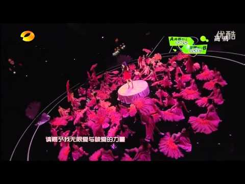 [New Year's Eve 2012: Live Performance: Ai De Gong Yang] Yang Mi