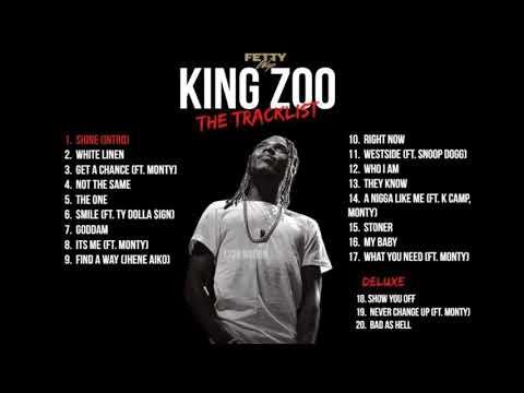 Fetty Wap - King Zoo Tracklist (Updated)