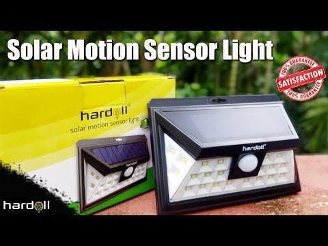 Hardoll Solar Motion Sensor Light