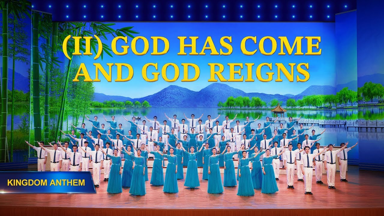 """Choir Song """"Kingdom Anthem (II) God Has Come and God Reigns"""" 