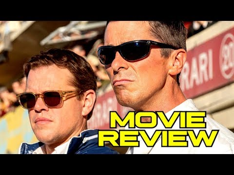 FORD V FERRARI Movie Review (2019) Matt Damon, Christian Bale
