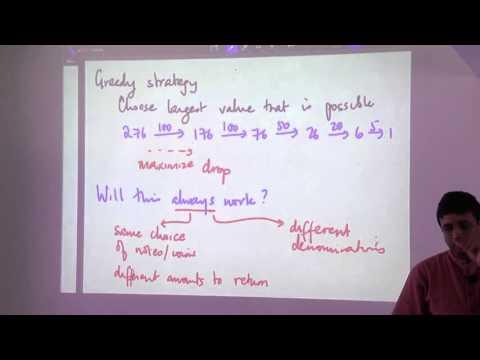 Greedy Algorithm Design Technique - Madhavan Mukund (part 1)