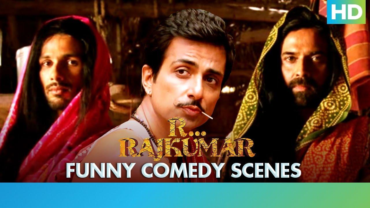 R... Rajkumar - Best Comedy Scenes - Shahid Kapoor, Sonakshi Sinha & Sonu Sood