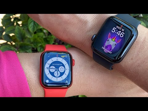 Apple Watch Series 6 vs. Apple Watch SE: Hands-on first impressions