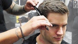 Classic Scissor Cut Sh๐rt Back & Sides Men's Haircut