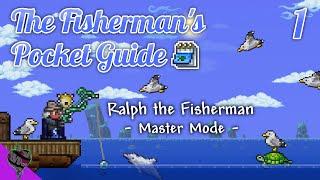 Terraria 1.4 Master M๐de Fishing Class ▫ Quest to 30 Pt.1, Part 1 ▫ The Fisherman's Pocket Guide