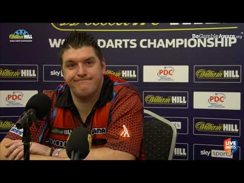 """Daryl Gurney on victory over Van der Voort: """"I had to wait for him to get out of the way"""""""