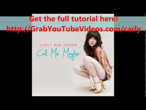 Carly Rae Jepsen - Call Me Maybe MP3 Download (FREE)