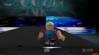 WWE ROBLOX - Dolph Ziggler's Entrance