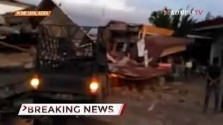 Sejumlah Bangunan Rusak Akibat Gempa Aceh