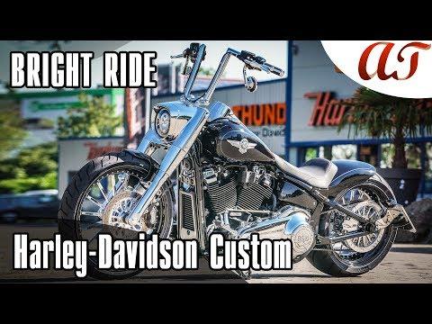 Harley-Davidson 2019 FAT BOY Custom: BRIGHT RIDE * A&T