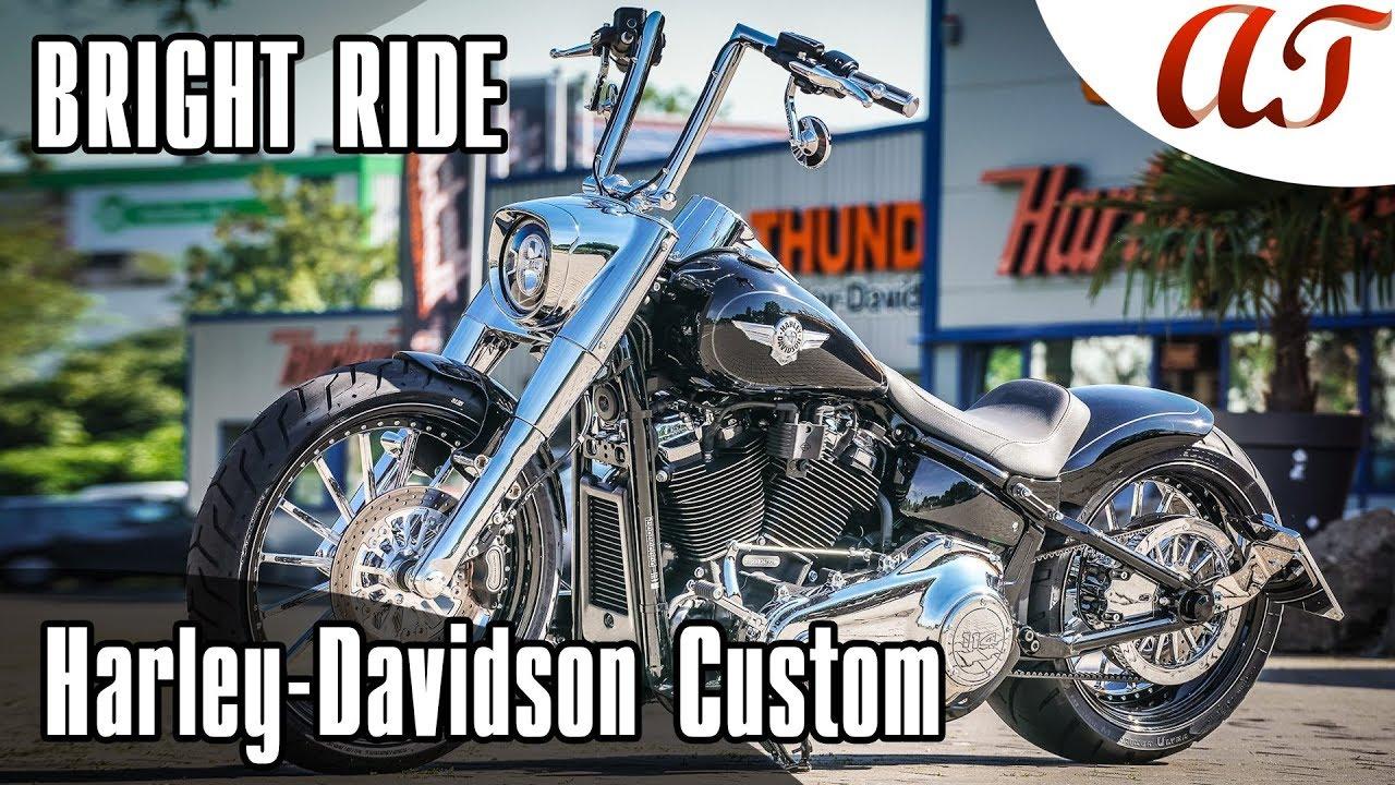 Harley-Davidson 2019 FAT BOY Custom: BRIGHT RIDE * A&T Design