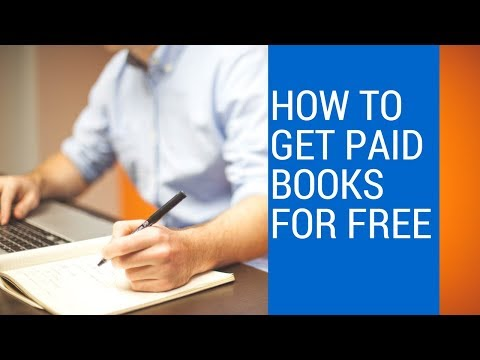 HOW TO GET PAID BOOKS FOR FREE
