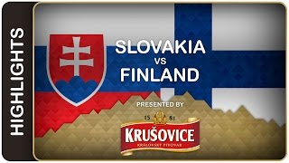 Perfect Finns blank Slovaks | Slovakia-Finland | #IIHFWorlds 2016